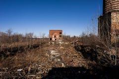 Εγκαταλειμμένο εργοστάσιο - Youngstown, Οχάιο στοκ φωτογραφίες