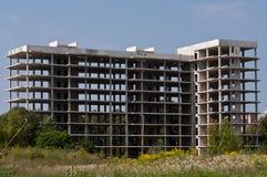 Εγκαταλειμμένο εργοτάξιο οικοδομής Στοκ εικόνα με δικαίωμα ελεύθερης χρήσης
