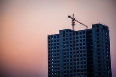Εγκαταλειμμένο εργοτάξιο οικοδομής Στοκ εικόνες με δικαίωμα ελεύθερης χρήσης