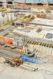 Εγκαταλειμμένο εργοτάξιο οικοδομής Στοκ Εικόνα