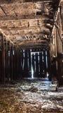 Εγκαταλειμμένο εσωτερικό αγροκτημάτων στοκ φωτογραφίες