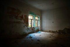 εγκαταλειμμένο εσωτερικό σπιτιών Στοκ Εικόνα