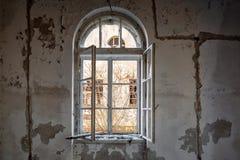 εγκαταλειμμένο εσωτερικό σπιτιών Στοκ εικόνες με δικαίωμα ελεύθερης χρήσης