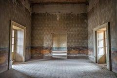 Εγκαταλειμμένο εσωτερικό στο Μεξικό Στοκ Εικόνες