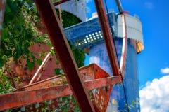 Εγκαταλειμμένο θεματικό πάρκο Στοκ εικόνες με δικαίωμα ελεύθερης χρήσης