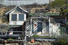Εγκαταλειμμένο ιστορικό σπίτι στο κρατικό πάρκο όρμων Crysal Στοκ εικόνα με δικαίωμα ελεύθερης χρήσης