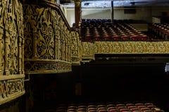 Εγκαταλειμμένο και ιστορικό θέατρο ναών Irem για Shriners - wilkes-μπάρα, Πενσυλβανία Στοκ εικόνες με δικαίωμα ελεύθερης χρήσης