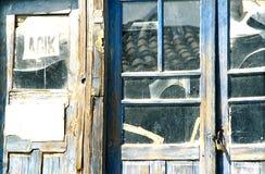 εγκαταλειμμένο κατάστημ& Στοκ φωτογραφία με δικαίωμα ελεύθερης χρήσης