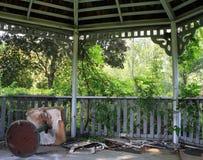 Εγκαταλειμμένο καλοκαιρινό εκπαιδευτικό κάμπινγκ Στοκ εικόνα με δικαίωμα ελεύθερης χρήσης