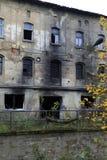 εγκαταλειμμένο κτήριο δ& Στοκ εικόνα με δικαίωμα ελεύθερης χρήσης