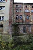 εγκαταλειμμένο κτήριο δ& Στοκ εικόνες με δικαίωμα ελεύθερης χρήσης