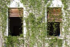 Εγκαταλειμμένο μέγαρο Στοκ Εικόνες