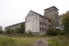 Εγκαταλειμμένο ναυτικό κολλέγιο σε Wustrow Στοκ Φωτογραφία