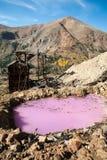 2 εγκαταλειμμένο ορυχεί&o Στοκ Εικόνα