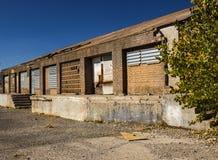 Εγκαταλειμμένο παλαιό εμπορικό κτήριο στοκ φωτογραφία