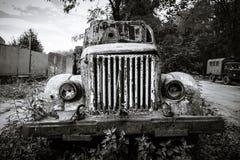 εγκαταλειμμένο παλαιό truck Στοκ Φωτογραφία