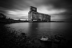 Εγκαταλειμμένο σιτάρι Cargill στο Buffalo, Νέα Υόρκη Στοκ φωτογραφία με δικαίωμα ελεύθερης χρήσης