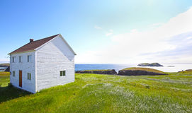 Εγκαταλειμμένο σπίτι στη νέα γη, Καναδάς Στοκ Εικόνες