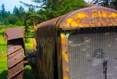 εγκαταλειμμένο τρακτέρ Στοκ εικόνα με δικαίωμα ελεύθερης χρήσης