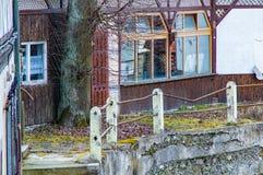 εγκαταλειμμένο χωριό σπι Στοκ εικόνα με δικαίωμα ελεύθερης χρήσης