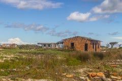 Εγκαταλειμμένο χωριό ψαράδων Στοκ φωτογραφία με δικαίωμα ελεύθερης χρήσης