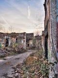 εγκαταλειμμένο χωριό Στοκ Εικόνες