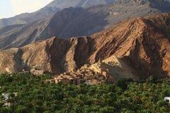 Εγκαταλειμμένο χωριό Birkat Al-Mawz Στοκ Εικόνα