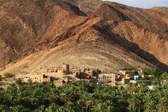 Εγκαταλειμμένο χωριό Birkat Al-Mawz Στοκ εικόνα με δικαίωμα ελεύθερης χρήσης