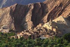 Εγκαταλειμμένο χωριό Birkat Al-Mawz Στοκ φωτογραφία με δικαίωμα ελεύθερης χρήσης