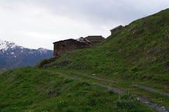 Εγκαταλειμμένο χωριό Khalde Στοκ φωτογραφία με δικαίωμα ελεύθερης χρήσης