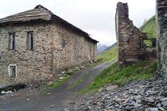 Εγκαταλειμμένο χωριό Khalde Στοκ Φωτογραφίες