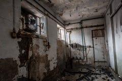 εγκαταλειμμένο δωμάτιο Στοκ εικόνες με δικαίωμα ελεύθερης χρήσης