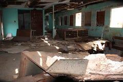 εγκαταλειμμένο δωμάτιο Στοκ εικόνα με δικαίωμα ελεύθερης χρήσης