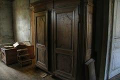 εγκαταλειμμένο δωμάτιο στοκ φωτογραφίες