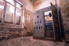 εγκαταλειμμένο δωμάτιο &n στοκ φωτογραφίες