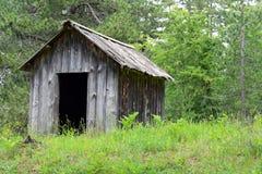 Εγκαταλελειμμένη καλύβα Στοκ φωτογραφίες με δικαίωμα ελεύθερης χρήσης