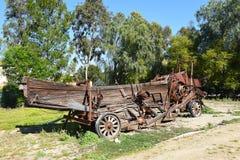 Εγκαταλελειμμένος αγροτικός εξοπλισμός στοκ φωτογραφία με δικαίωμα ελεύθερης χρήσης