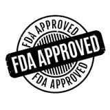 Εγκεκριμένη FDA σφραγίδα Στοκ φωτογραφίες με δικαίωμα ελεύθερης χρήσης