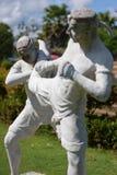 Εγκιβωτίζοντας άγαλμα της Ταϊλάνδης Στοκ φωτογραφία με δικαίωμα ελεύθερης χρήσης