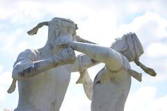 Εγκιβωτίζοντας άγαλμα της Ταϊλάνδης Στοκ Εικόνες