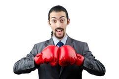 εγκιβωτίζοντας γάντια ε&p στοκ εικόνα με δικαίωμα ελεύθερης χρήσης