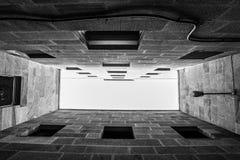 Εγκιβωτισμένες - μέσα - Vigo - Γαλικία Στοκ Φωτογραφίες