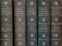 εγκυκλοπαίδειες παλ&al Στοκ εικόνες με δικαίωμα ελεύθερης χρήσης