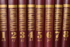 Εγκυκλοπαίδεια Στοκ Εικόνες