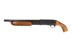Εγκληματίας πριονίζω-από το κυνηγετικό όπλο στοκ εικόνες