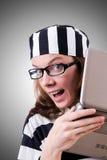 Εγκληματικός χάκερ στοκ εικόνες με δικαίωμα ελεύθερης χρήσης