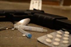 Εγκληματικότητα και φάρμακα στοκ φωτογραφία με δικαίωμα ελεύθερης χρήσης