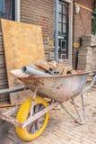 Εγχώρια βελτίωση ενός παλαιού ολλανδικού σπιτιού στοκ φωτογραφία με δικαίωμα ελεύθερης χρήσης
