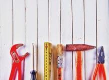 Εγχώρια εργαλεία Στοκ εικόνα με δικαίωμα ελεύθερης χρήσης