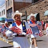 Εγχώρια ερχόμενη παρέλαση Flagstaff, ΗΠΑ στοκ εικόνα